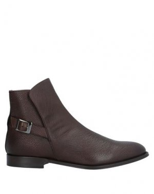 Полусапоги и высокие ботинки CASTORI. Цвет: темно-коричневый