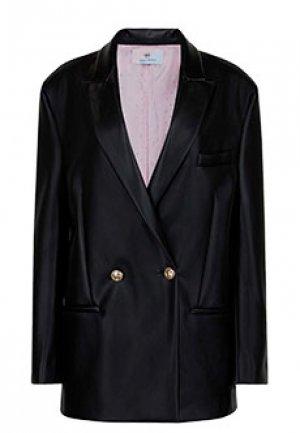 Пиджак CHIARA FERRAGNI. Цвет: черный