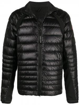 Куртка Hybridge на молнии Canada Goose. Цвет: черный