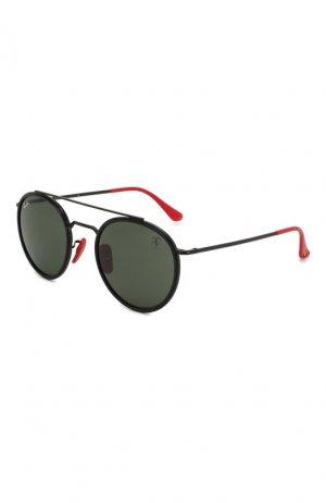 Солнцезащитные очки Ray-Ban. Цвет: чёрный