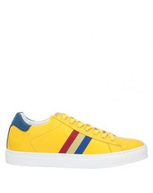 Кеды и кроссовки CASTELBAJAC. Цвет: желтый