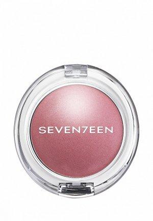 Румяна Seventeen перламутровые PEARL BLUSH POWDER т.01 темно розовый, 7.5 г. Цвет: розовый