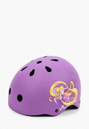 Шлем Reaction. Цвет: фиолетовый