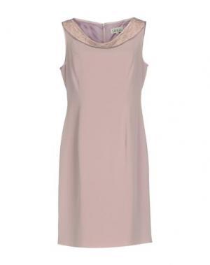 Короткое платье LEXUS. Цвет: сиреневый