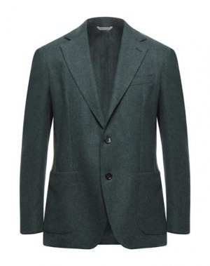 Пиджак 0909 FATTO IN ITALIA. Цвет: темно-зеленый