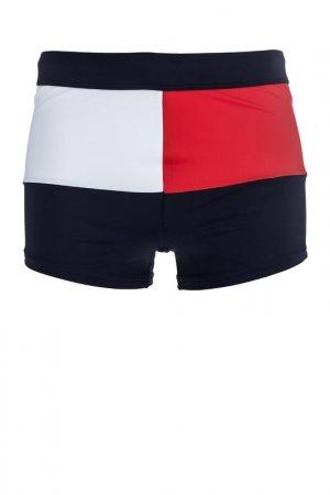 Плавки Tommy Hilfiger. Цвет: белый, красный, синий