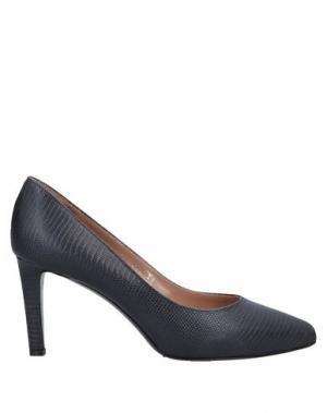 Туфли DIBRERA BY PAOLO ZANOLI. Цвет: стальной серый