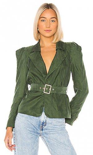 Куртка fernanda House of Harlow 1960. Цвет: темно-зеленый