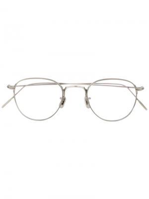 Square frame glasses Eyevan7285. Цвет: металлический