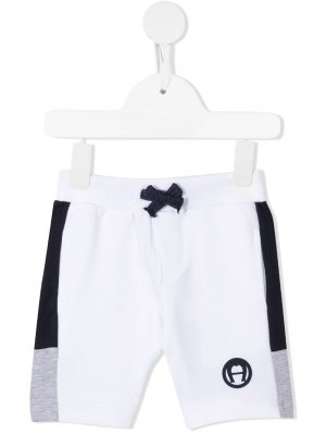 Спортивные шорты Aigner Kids. Цвет: белый