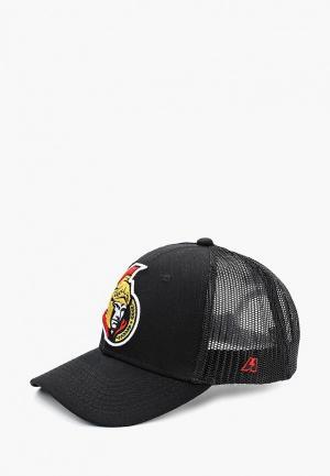 Бейсболка Atributika & Club™ NHL Ottawa Senators. Цвет: черный
