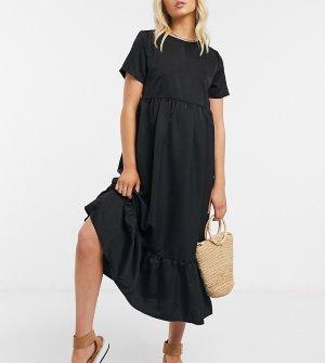 Черное свободное платье -Черный Urban Bliss Maternity