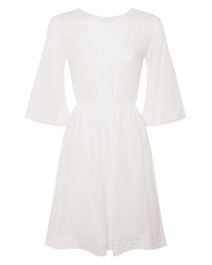 Платье 10307504 l белый European Culture. Цвет: белый