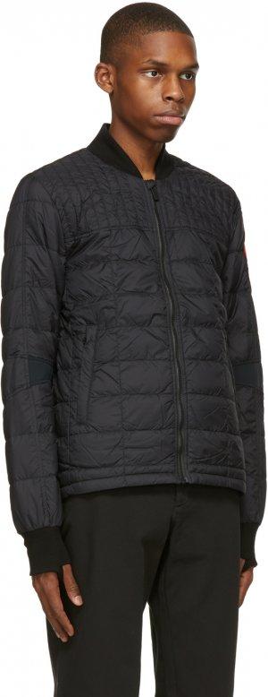 Black Down Dunham Jacket Canada Goose. Цвет: black