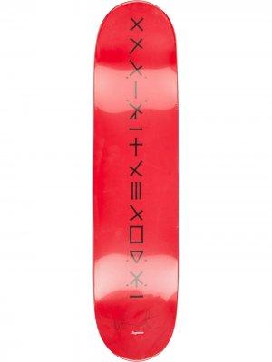 Набор из трех досок для скейтборда Damien Hirst Spin Supreme. Цвет: разноцветный