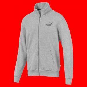 Олимпийка Essentials Track Jacket PUMA. Цвет: серый