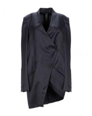 Легкое пальто ILARIA NISTRI. Цвет: темно-синий