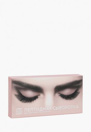Сыворотка для ресниц Beauty Style пептидная укрепления 2 мл. Цвет: прозрачный