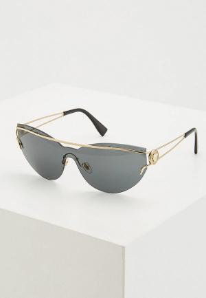 Очки солнцезащитные Versace VE2186 125287. Цвет: серый