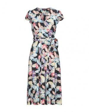 Платье длиной 3/4 HALE BOB. Цвет: черный