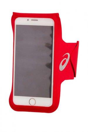 Чехол д/телефона на предплечье Asics. Цвет: красный