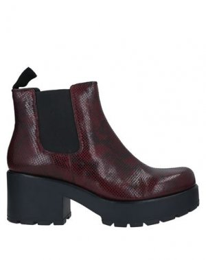 Полусапоги и высокие ботинки VAGABOND SHOEMAKERS. Цвет: красно-коричневый