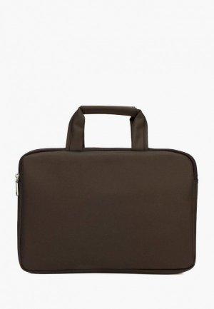 Чехол для ноутбука Laccoma. Цвет: коричневый