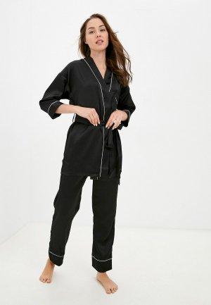 Пижама Eva Cambru. Цвет: черный