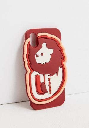 Чехол для iPhone See by Chloe X/XS. Цвет: бордовый