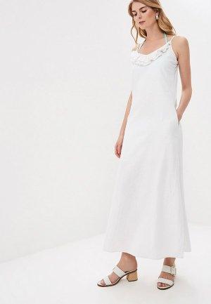 Платье пляжное Phax. Цвет: белый