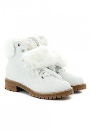 Ботинки LERRE. Цвет: белый