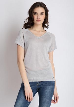 Пуловер Finn Flare. Цвет: серый