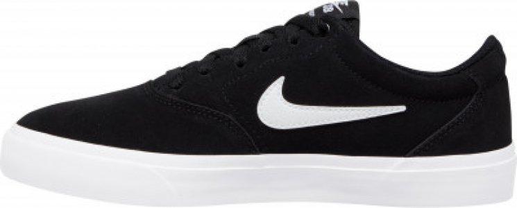 Кеды женские WMNS Sb Charge Suede, размер 37.5 Nike. Цвет: черный