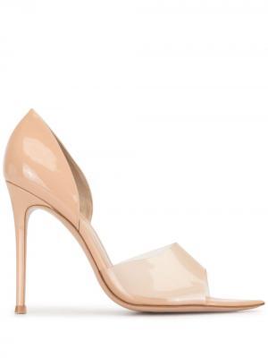 Туфли Bree с ремешками Gianvito Rossi. Цвет: нейтральные цвета