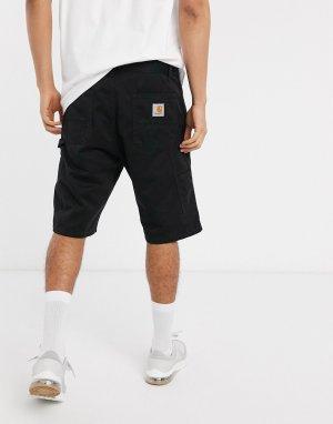Черные шорты до колен -Черный Carhartt WIP