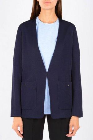 Пиджак Alexander Wang. Цвет: темно-синий