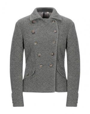 Куртка MANILA GRACE. Цвет: серый