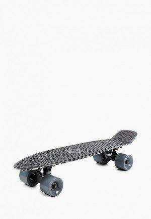 Скейтборд Termit 56х14 см. Цвет: черный