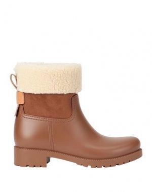 Полусапоги и высокие ботинки SEE BY CHLOÉ. Цвет: желто-коричневый