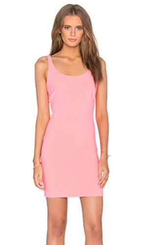 Мини платье houston LIKELY. Цвет: розовый