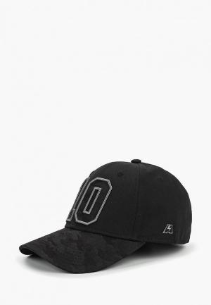 Бейсболка Atributika & Club™ №10. Цвет: черный