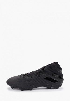 Бутсы adidas NEMEZIZ 19.3 FG. Цвет: черный