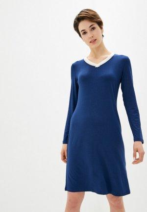 Платье домашнее Blackspade. Цвет: синий
