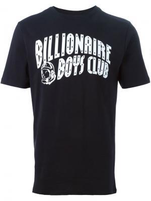 Футболки и жилеты Billionaire Boys Club. Цвет: чёрный