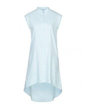 Короткое платье NOVEMB3R. Цвет: небесно-голубой