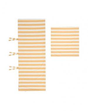 Гарнитура постельного белья HAY. Цвет: абрикосовый