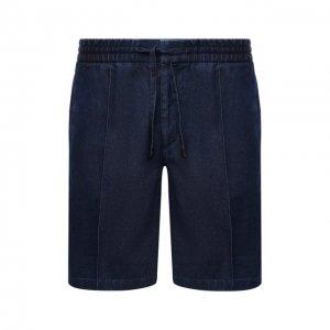 Джинсовые шорты Brioni. Цвет: синий