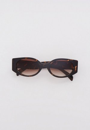 Очки солнцезащитные Dorogobogato. Цвет: коричневый