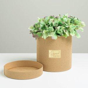 Шляпная коробка из микрогофры special for you, 15 х см Дарите Счастье
