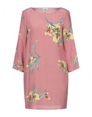 Короткое платье ATTIC AND BARN. Цвет: пастельно-розовый